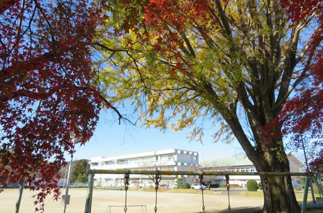 学校外観(東成井小)