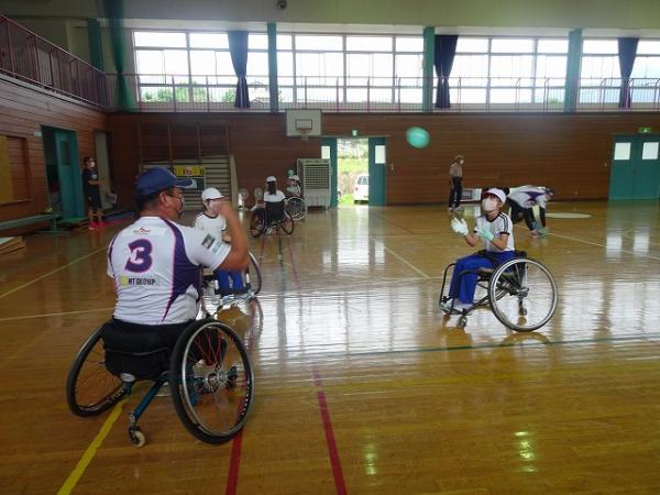 車椅子ソフトボール