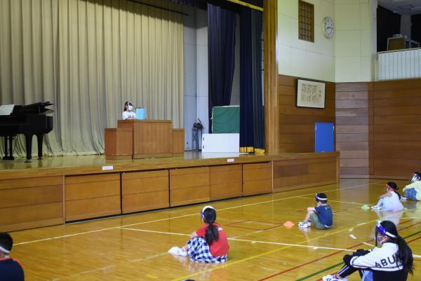 4年生代表児童