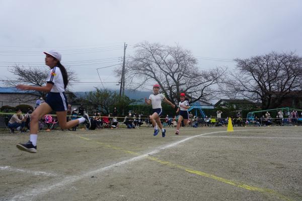 高学年徒競走