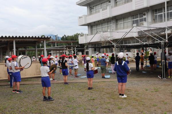 鼓笛隊全体練習