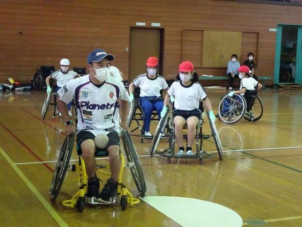 5年生 車椅子ソフトボール