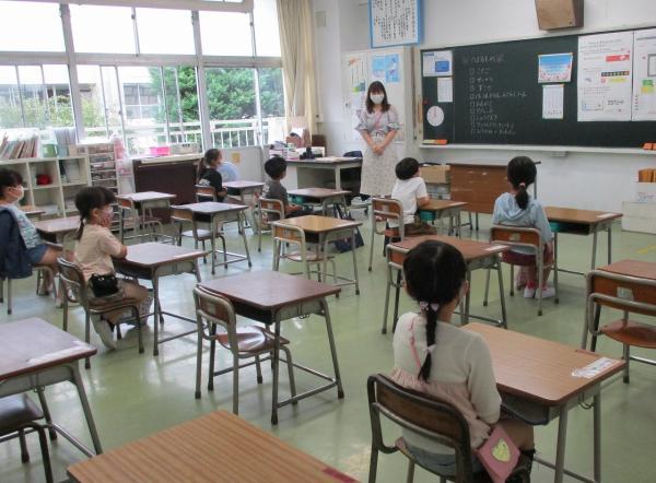第2学期始業式 ~分散登校のスタートとなりました~