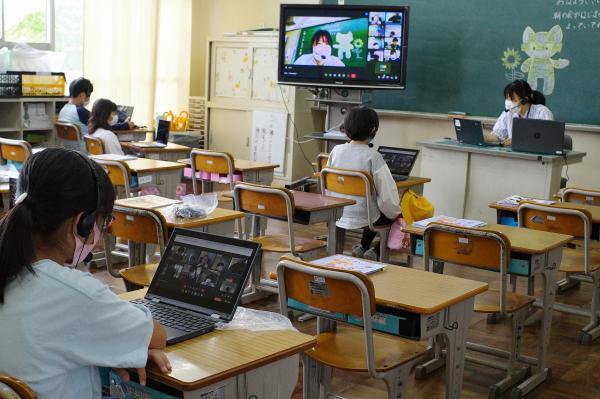 オンラインによる学習がスタート