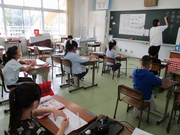 分散登校実施(9月13日・14日)~久しぶりの子供たちの笑顔です~