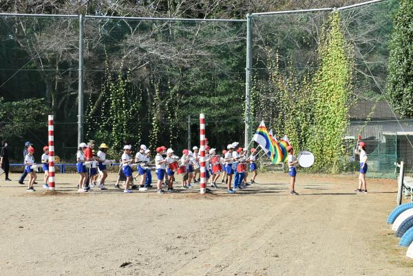 スポーツフェスティバルの練習