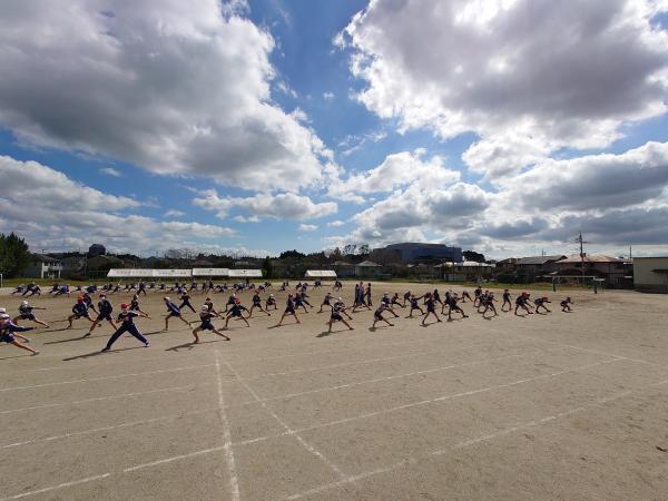 高学年 運動会練習